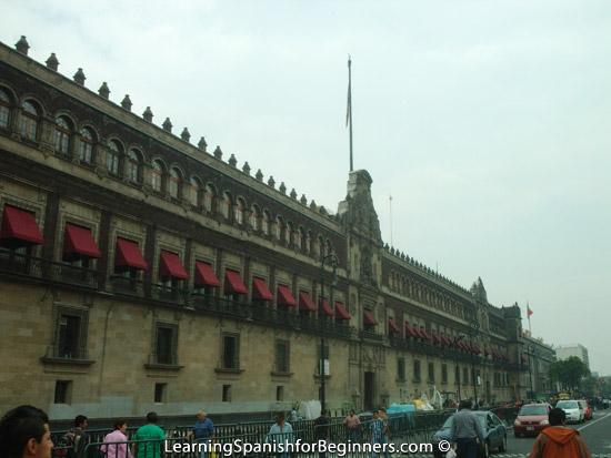 Mexico City - Palacio Nacional 1