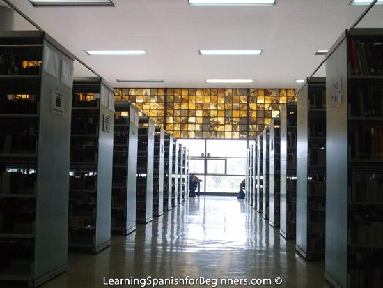 Mexico City - UNAM Biblioteca 1