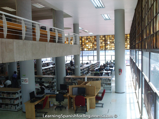 Mexico City - UNAM Biblioteca 2