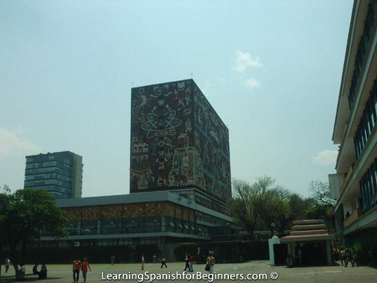 Mexico City - UNAM Biblioteca 7