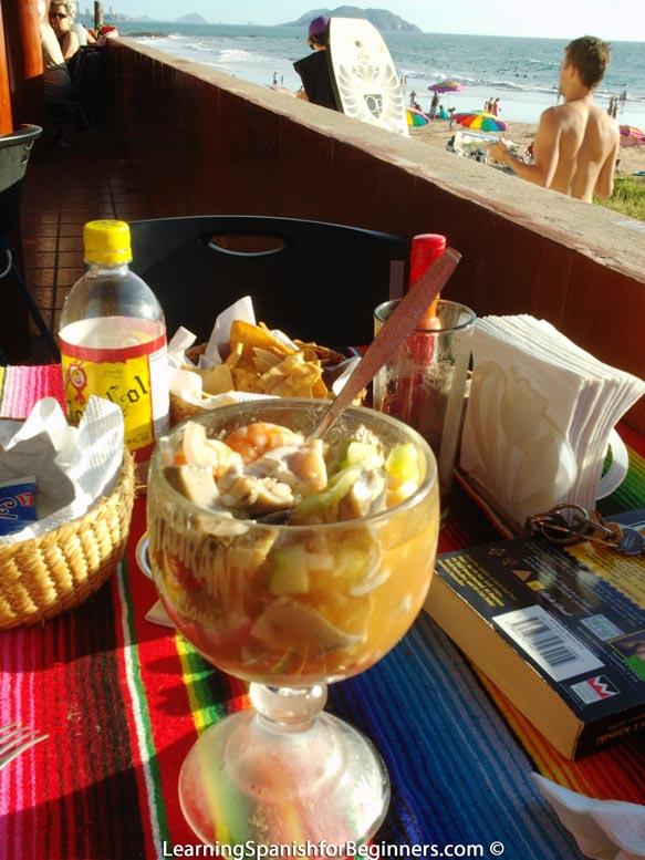 Eating-by-the-beach-at-Mazatlan-1